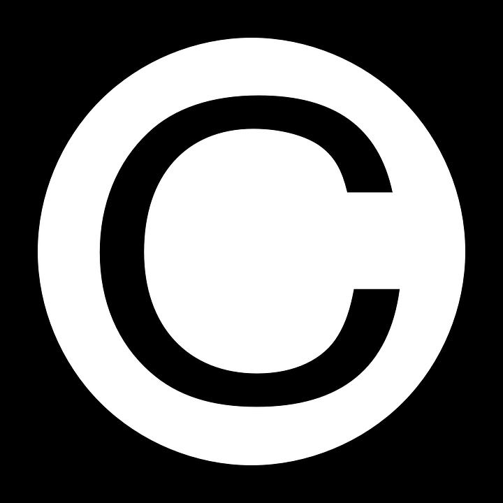 Free vector graphic: Copyright, Symbol, Sign, Black.