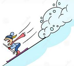 Free Avalanche Clipart.