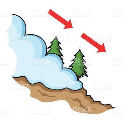 Collection of Avalanche clipart PNG.