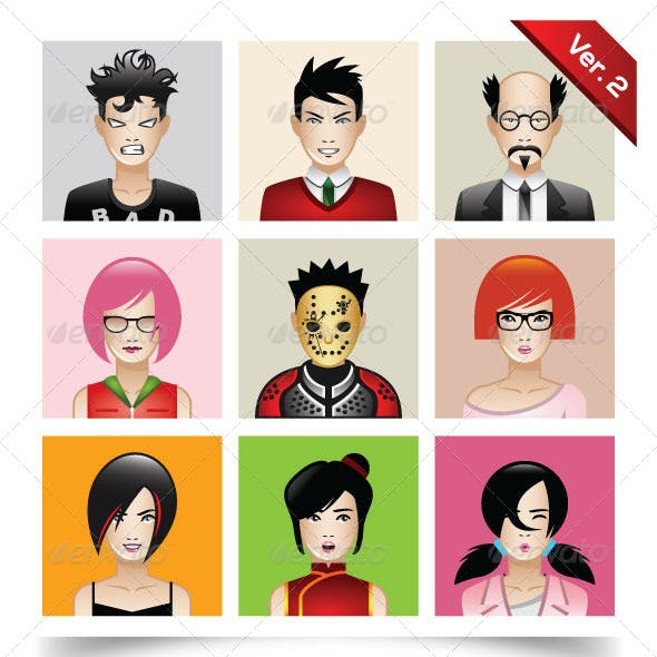 Avatar Generator Graphics, Designs & Templates from GraphicRiver.