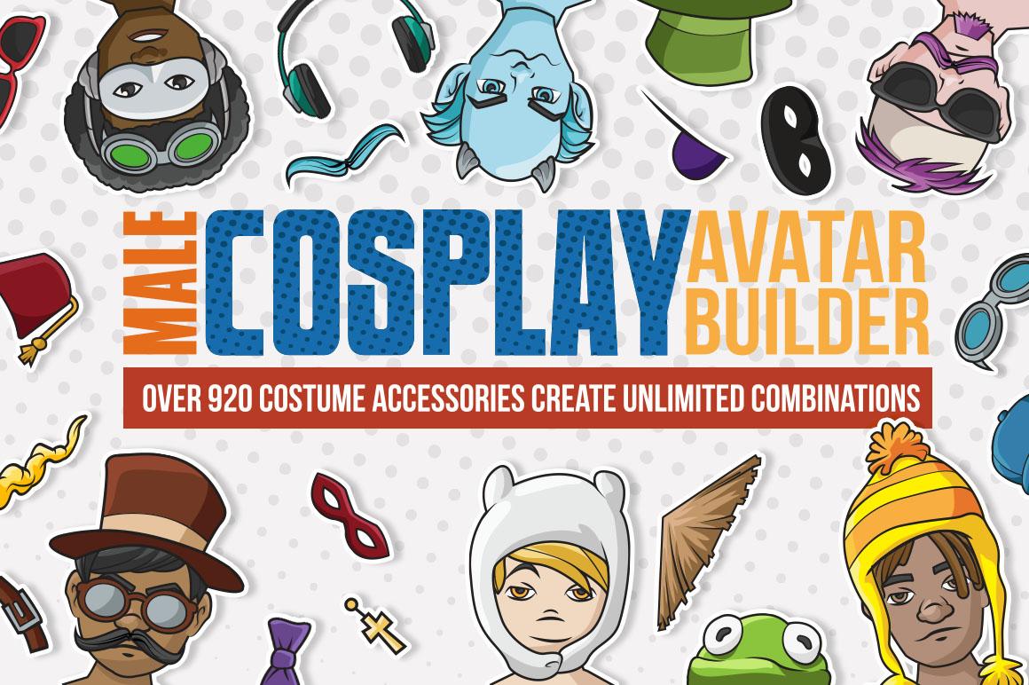 Male Cosplay Avatar Builder.