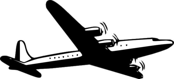 Propellor Airliner Clip Art at Clker.com.