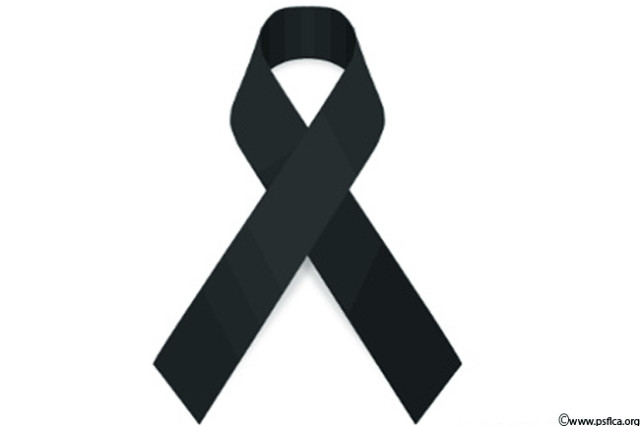 Black cancer ribbon clipart.