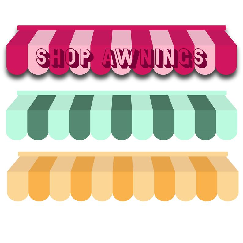 Shop Awning Clipart.
