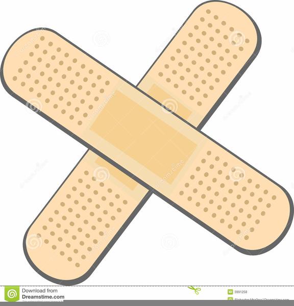 Free Clipart Bandages.