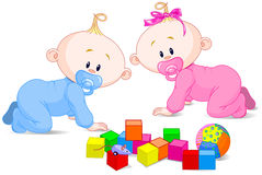Babies Stock Illustrations.