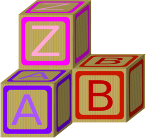 Baby Blocks Abc 2 Clip Art at Clker.com.