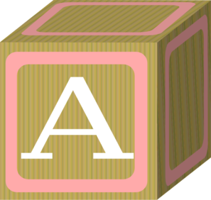 Baby Blocks Abc 2 A Clip Art at Clker.com.