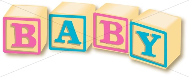 Wooden Baby Blocks.