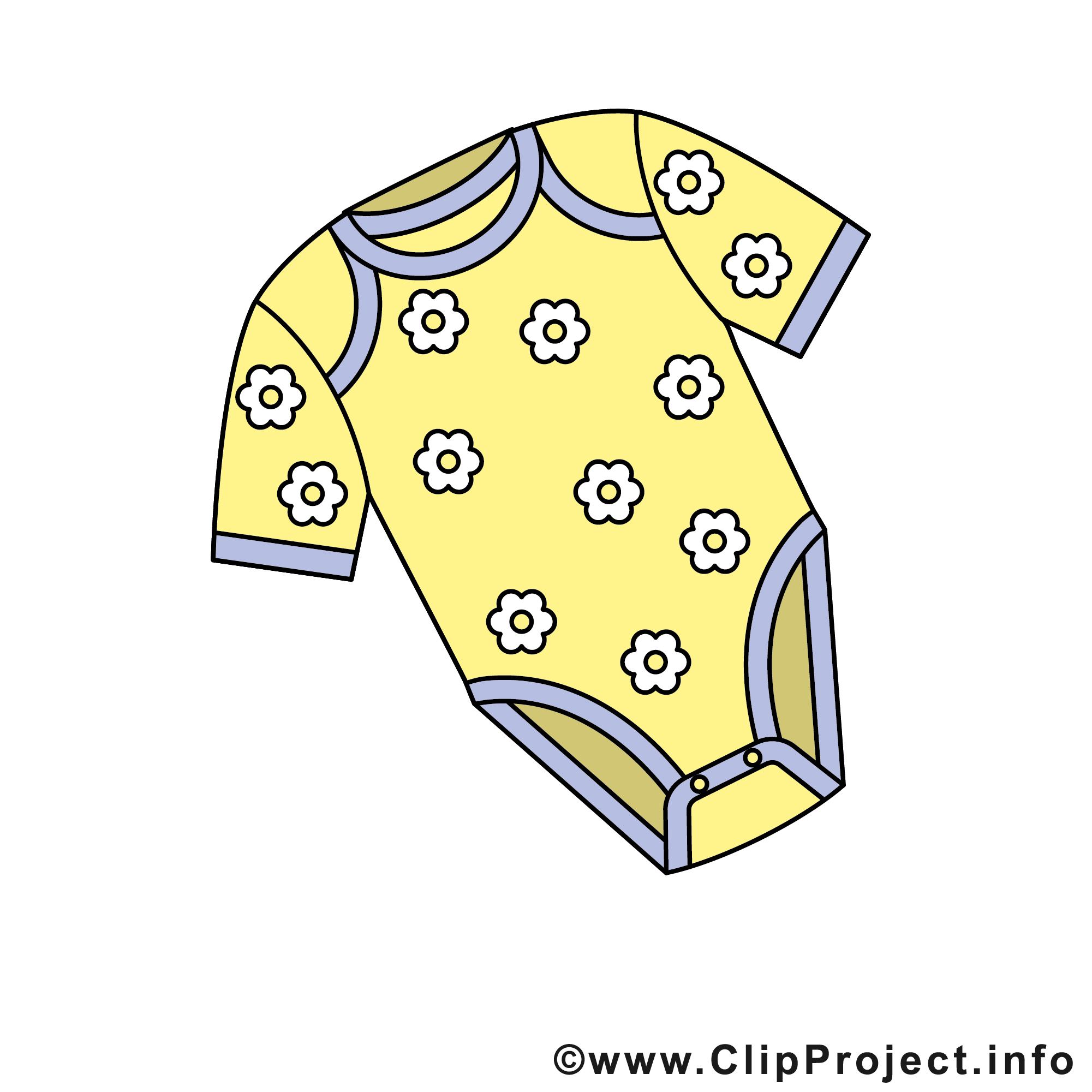 Baby Body Clipart.