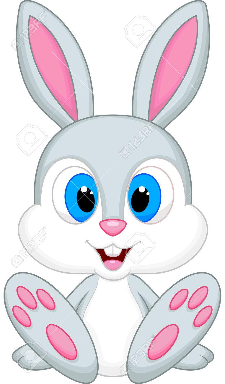 Cute Baby Bunny Clipart.