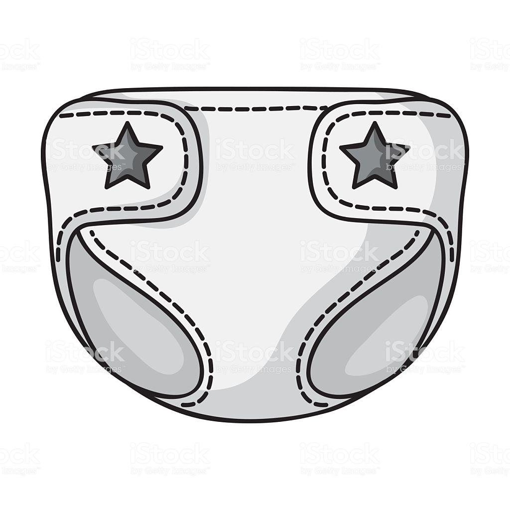 Diaper clipart baby diaper.