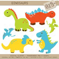 Baby dinosaurs Royalty Free Stock Vector Art Illustration.
