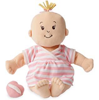 Amazon.com: Manhattan Toy Baby Stella Peach Soft Nurturing.