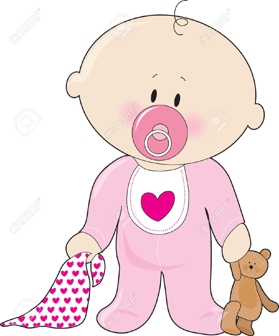 Clipart Baby Girl & Baby Girl Clip Art Images.