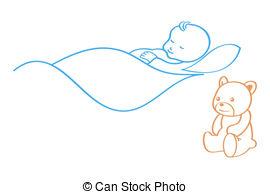 Baby blanket Clip Art Vector Graphics. 689 Baby blanket EPS.