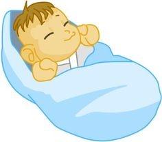 Baby In Blanket Clipart.
