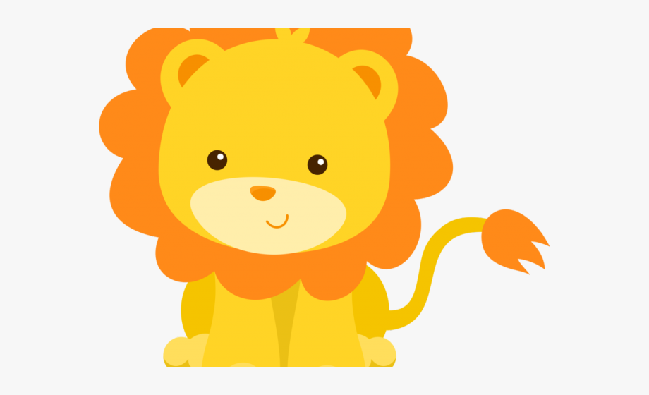 Baby Lion Cliparts.