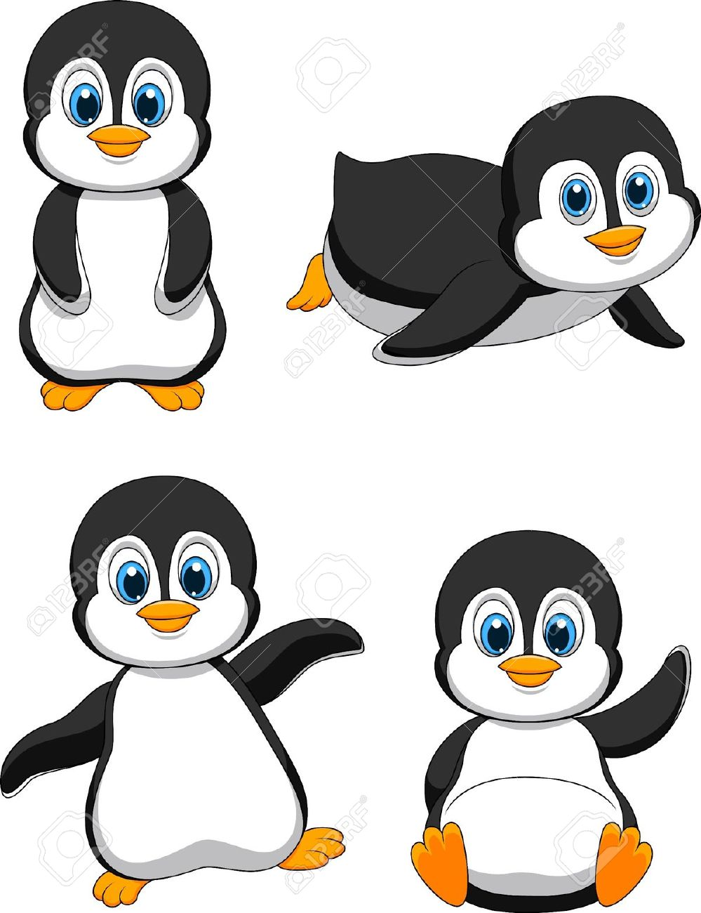 2,918 Baby Penguin Stock Illustrations, Cliparts And Royalty Free.
