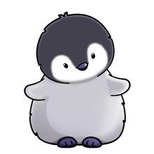 Baby Penguin Clipart.