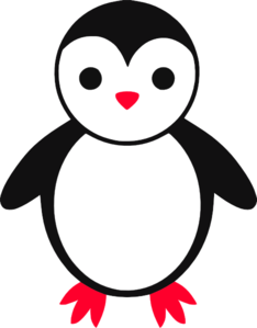 Cute Baby Penguin Clip Art at Clker.com.