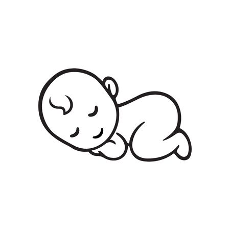 Baby Sleeping Images Clip Art.