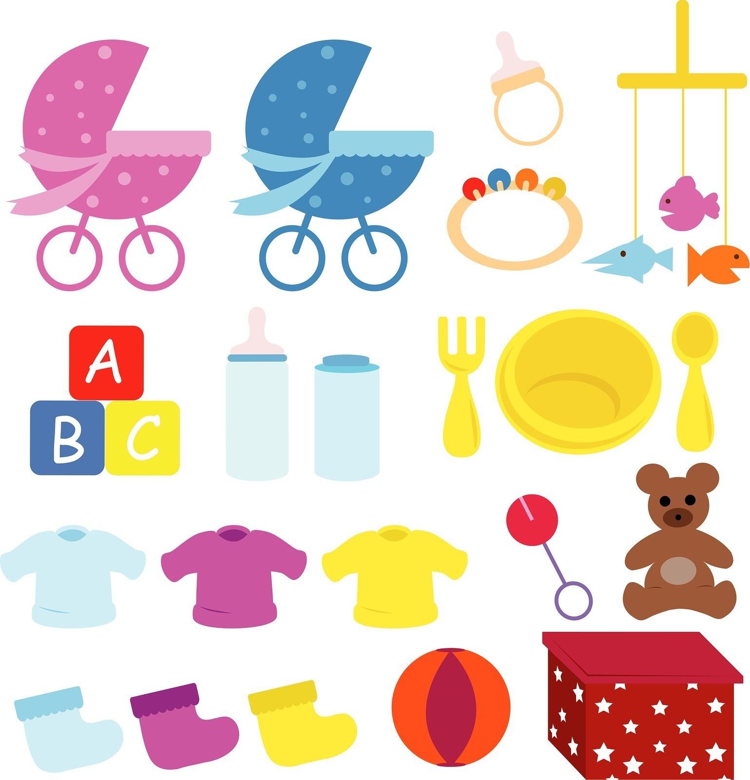 Free Baby Things Download Clip Art On Clipart Cute Items.