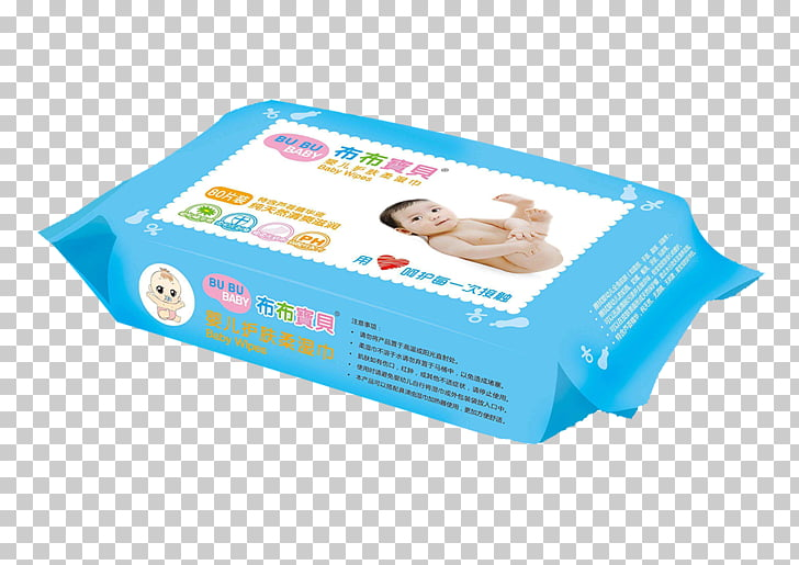 Baby wipes PNG clipart.