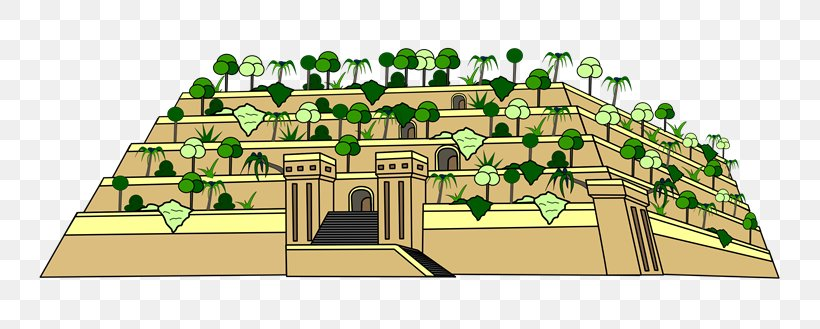 Hanging Gardens Of Babylon Seven Wonders Of The Ancient.