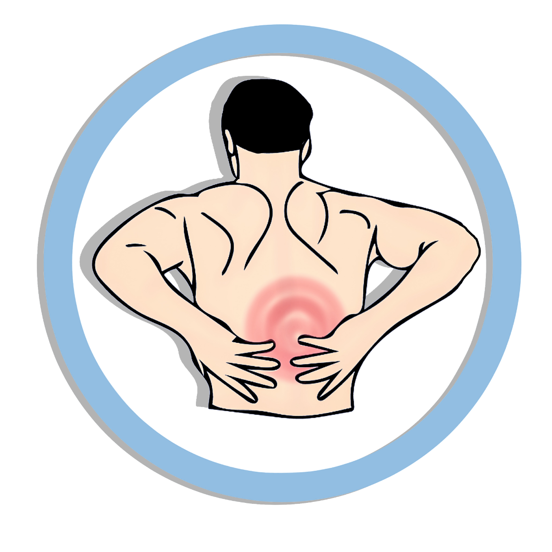 Pain clipart backache, Pain backache Transparent FREE for.