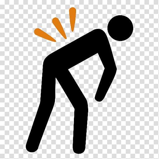 Back pain Computer Icons Symbol , back pain transparent.