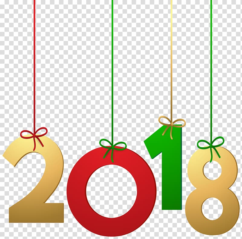 2018 , New Year Message Happiness, 2018 Hanging Decoration.