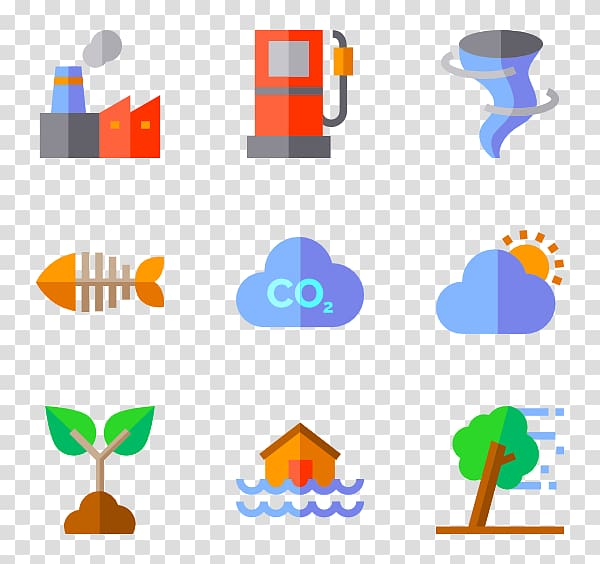 Computer Icons Climate change Global warming , environmental.