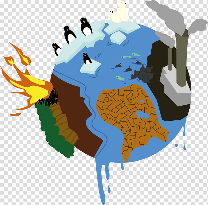 Earth illustration, What Is Global Warming? Climate change.