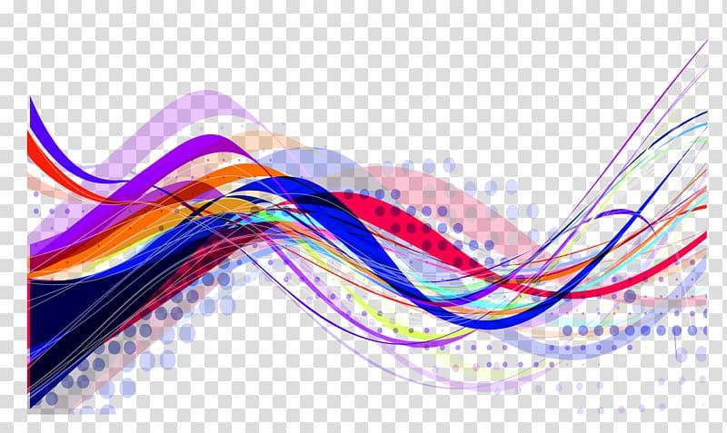 Multicolored line , Line Illustration, Color line.