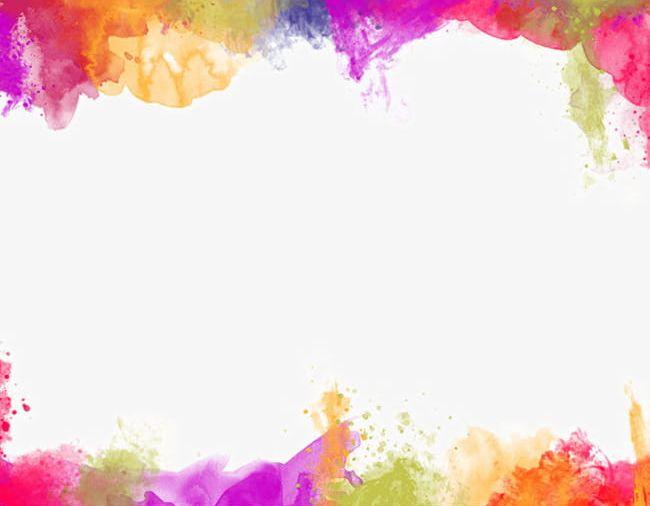 Color Painting Watercolor Splash Background PNG, Clipart.
