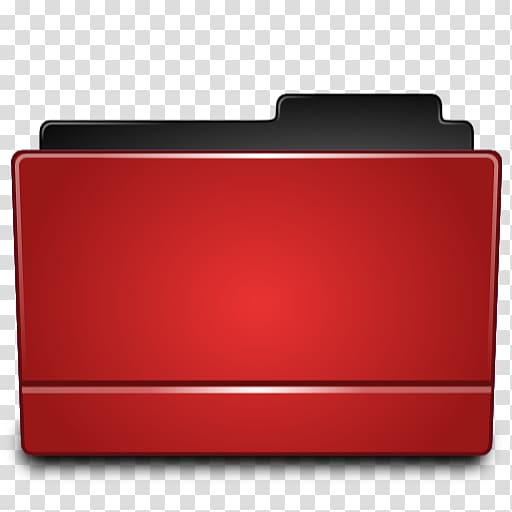 Red file icon, Computer Icons Directory File Folders, Red.