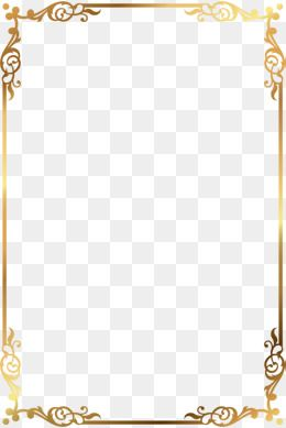 Golden Text, Golden, Frame, Decorate PNG Transparent Clipart.