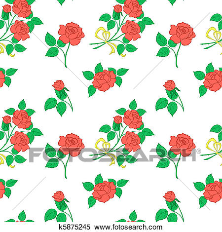 Background, flowers rose Clipart.