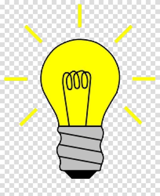 Incandescent light bulb Lamp , light bulb transparent.