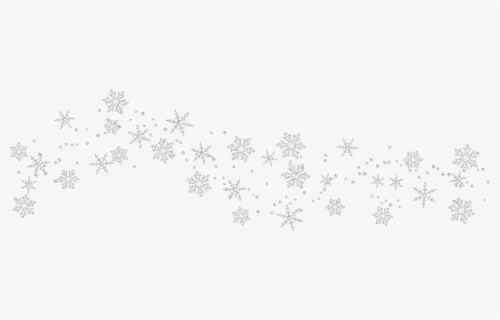 Free White Snowflake Clip Art with No Background.