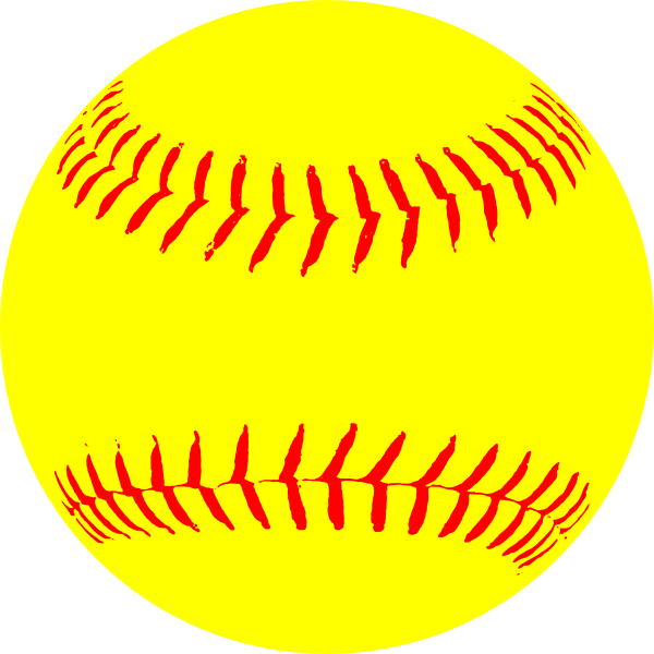 Softball Clipart No Background.