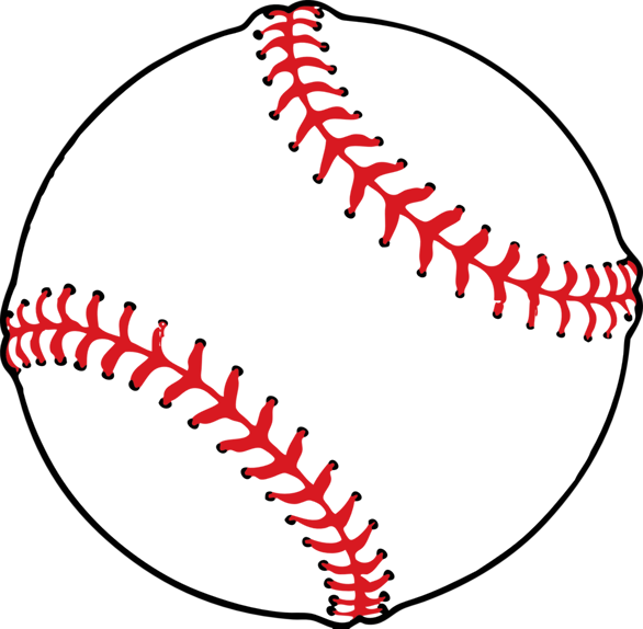 Softball Clipart Background.