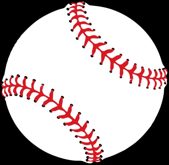 Softball Clipart Background.