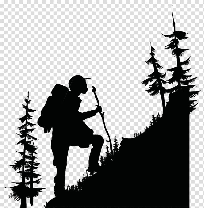 Man climbing , Munnar Hiking Trekking Backpacking , hike.