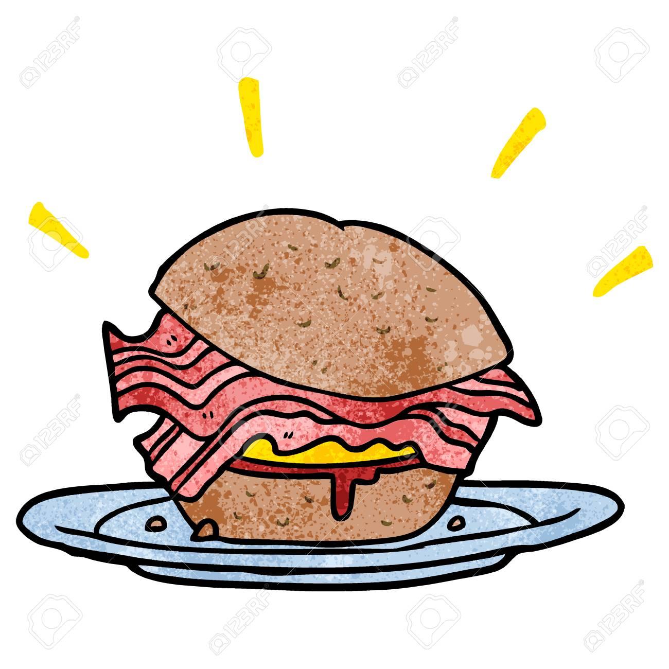 Clipart Bacon Sandwich & Free Clip Art Images #16330.