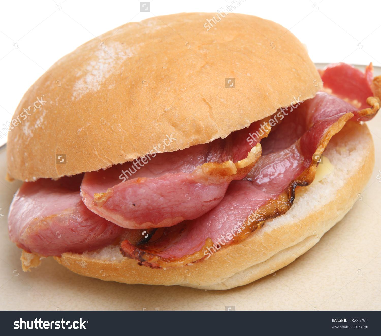 Clip Art Bacon Sandwich.