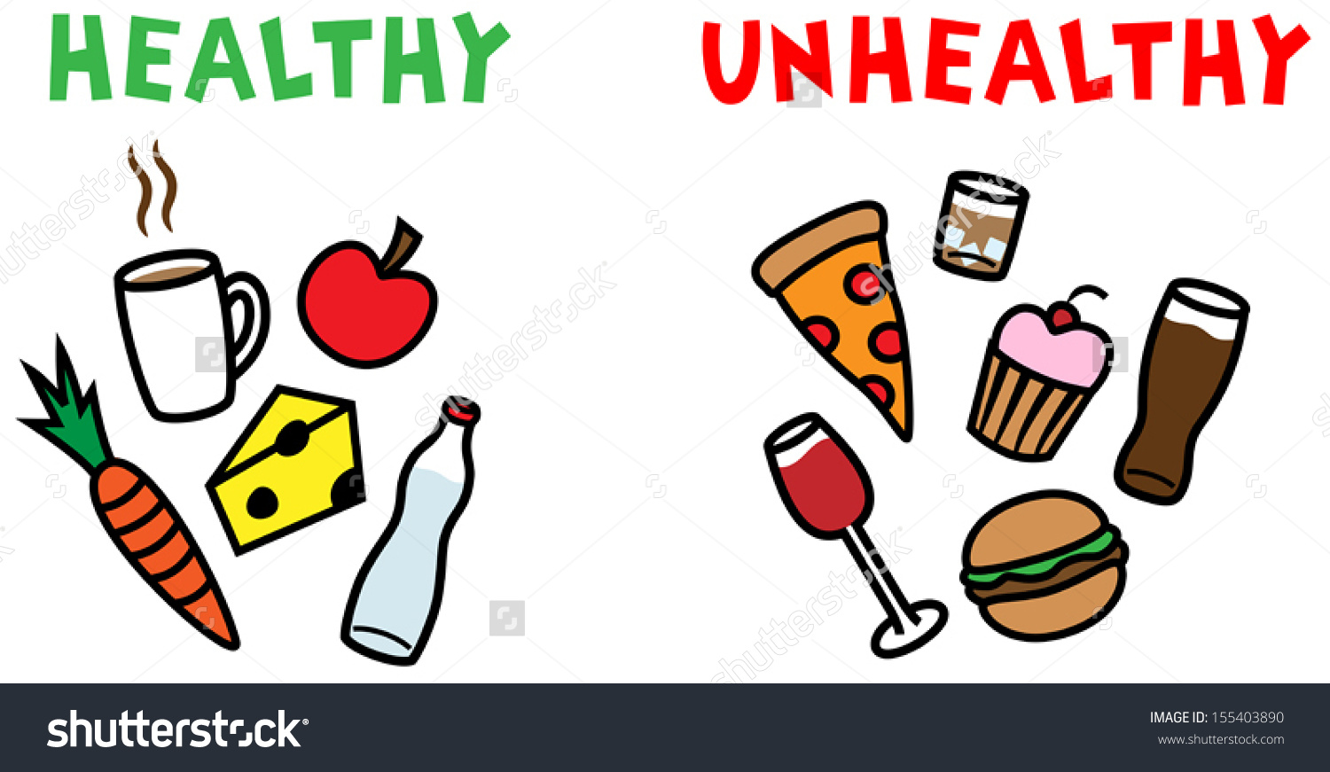 clipart bad food #16