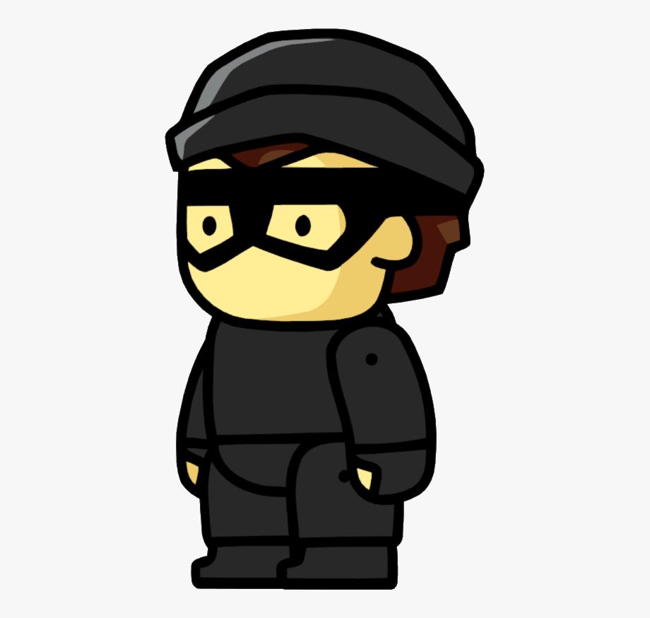 Burglar Clipart Bad Guy.