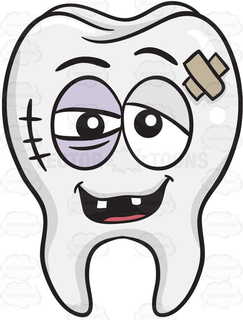 Rotten Tooth Clipart.
